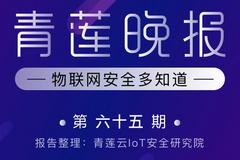青莲晚报(第六十五期)  物联网安全多知道