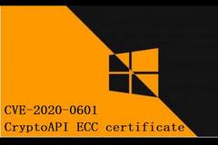 Windows暴露CryptoAPI证书验证严重安全漏洞CVE-2020-0601,影响系统证书信任链