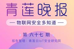 青莲晚报(第六十七期)  物联网安全多知道