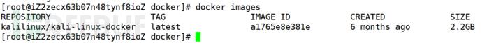 打造你的云渗透主机:阿里云部署Kali Docker