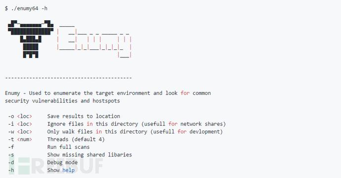 Enumy:一款功能强大的Linux后渗透提权枚举工具