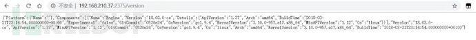 可未授权查看Docker信息