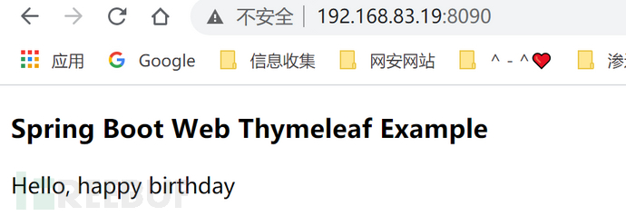 Thymeleaf模板注入导致命令执行漏洞分析插图