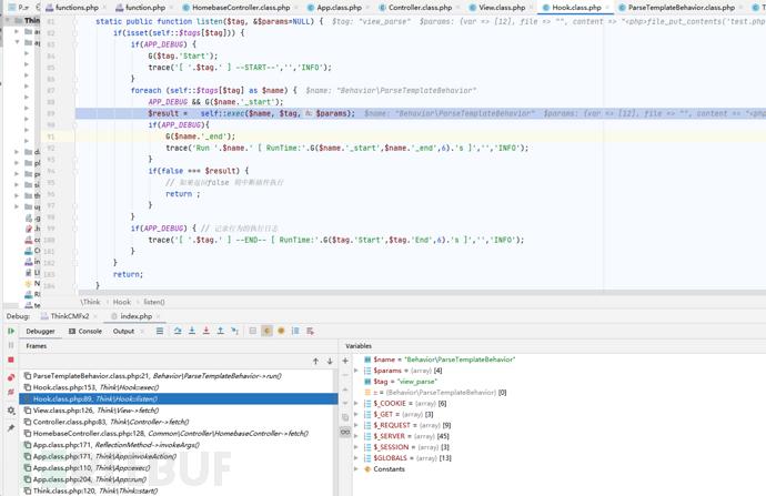 组件攻击链ThinkCMF高危漏洞分析与利用-极安网
