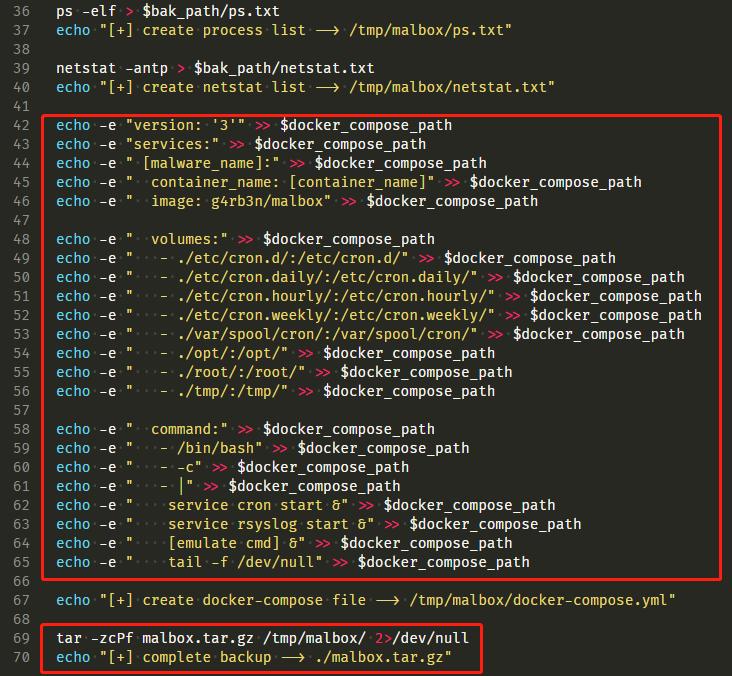 Docker化自动采集&模拟恶意软件环境插图(3)