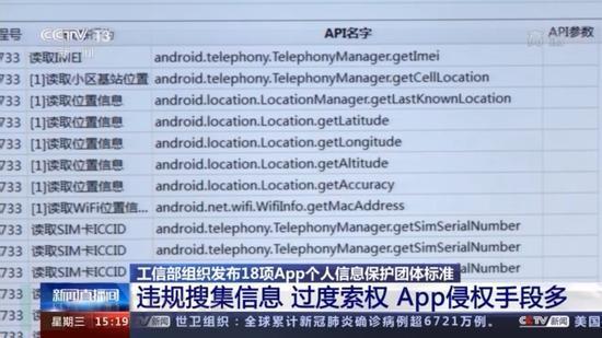 18项App个人信息保护团体标准发布:按最小必要原则制定-极安网