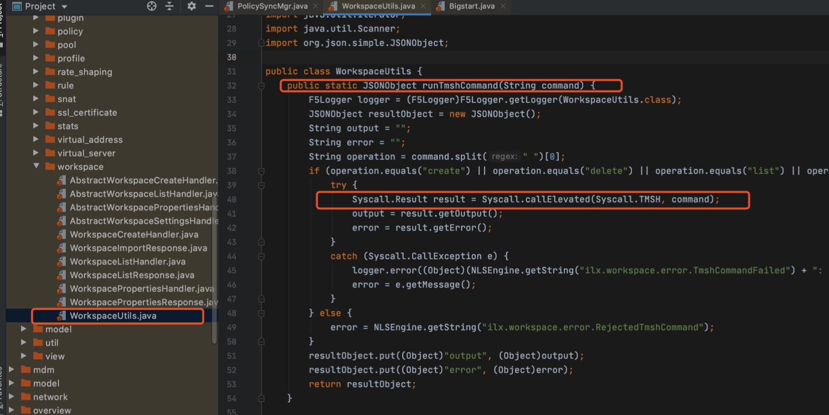 F5远程代码执行漏洞分析
