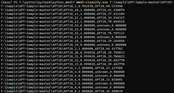 python_mmdt:从0到1–实现简单恶意代码分类器(二)