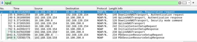 5.4-2在RAN的NG口抓取到UE接入流程如下:.PNG
