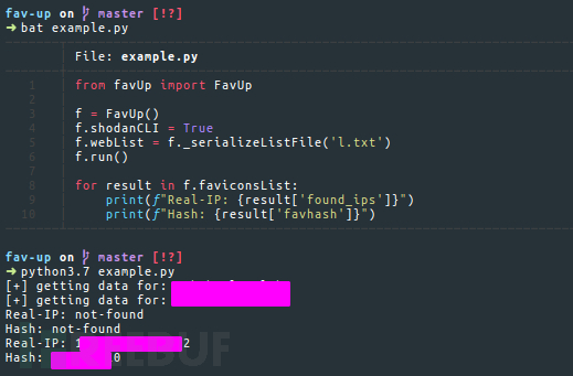 如何使用Fav-up通过Favicon和Shodan来进行IP查询插图1