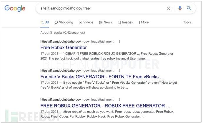 谷歌索引的政府网站