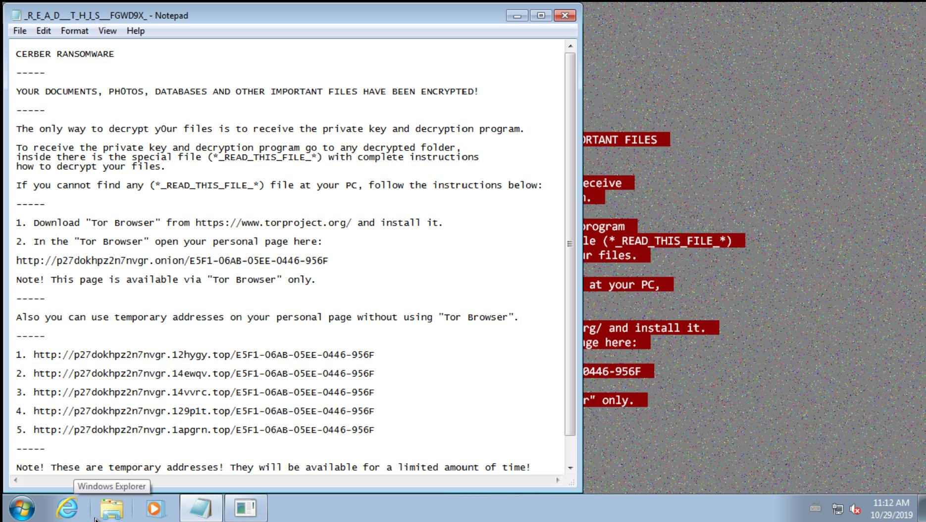 【麋鹿】解析勒索软件的通用技术