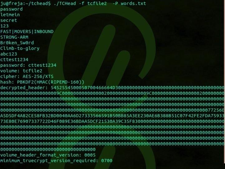 TrueCrypt破解工具-TCHead